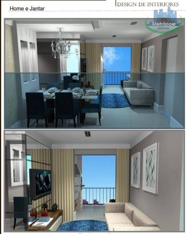 Apartamento 2 quarto(s) para  em Ponte Grande/GUARULHOS